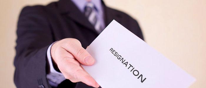 ترک کار -استعفا