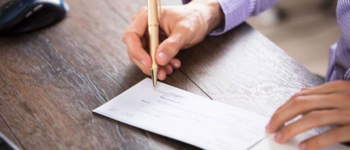 وصول مطالبات معوق بانکی به استناد چک برگشتی